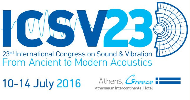 23rd International Congress on Sound & Vibration (ICSV23)