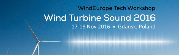 Wind Turbine Sound Workshop [Gdansk, 17-18/11/2016]