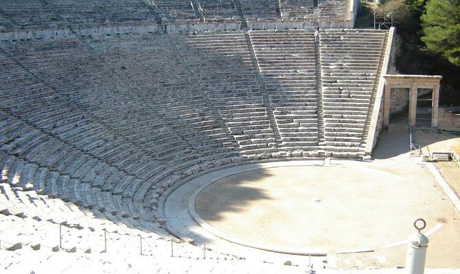 Για το ζήτημα της ακουστικής του αρχαίου Θεάτρου της Επιδαύρου