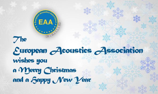Χριστουγεννιάτικο μήνυμα του Πρόεδρου της Ευρωπαϊκής Ακουστικής Εταιρείας