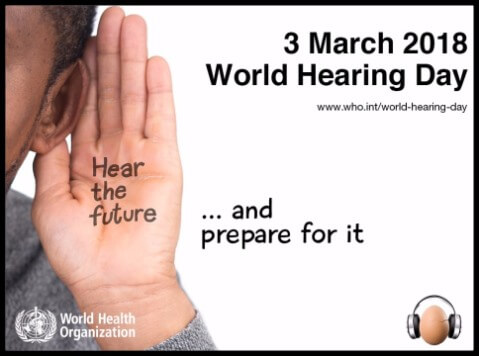 World Hearing Day: 3 March