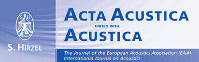 Acta Acustica united with Acustica: Issue 6 / Volume 105