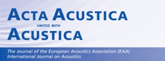 Νέο τεύχος του Acta Acustica united with Acustica (Vol. 102, Issue 6)